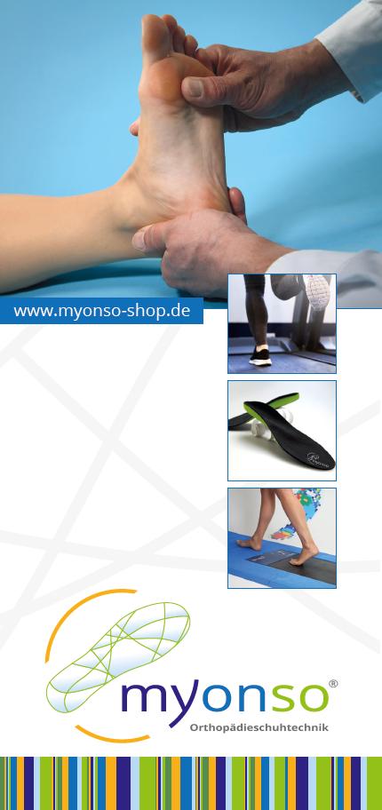 myonso-shop 04668 Grimma Orthopädische Schuheinlagen
